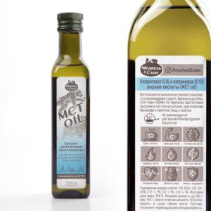 MCT oil (в стекле) | 250мл Медведь и Слон