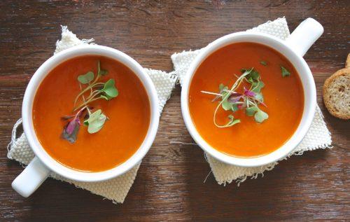 Морковный броне-суп Медведь и Слон