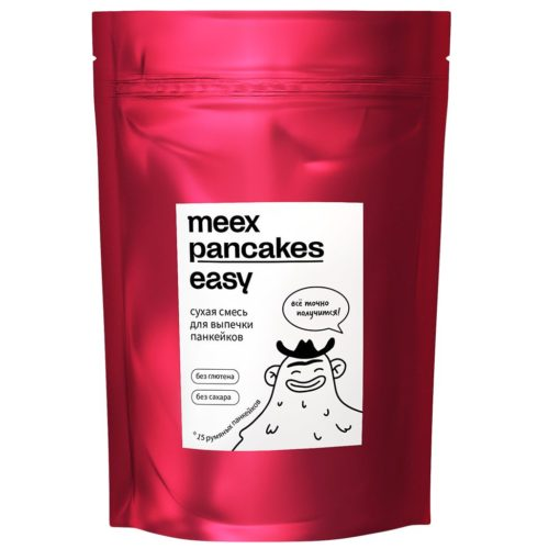 Смесь сухая мучная для выпечки панкейков | Meex it easy | 240г Медведь и Слон